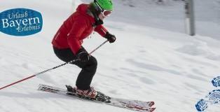 Skifahren in Bayern in einem der vielen Skigebiete