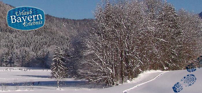 Wellness im Winter - Entspannung Natur