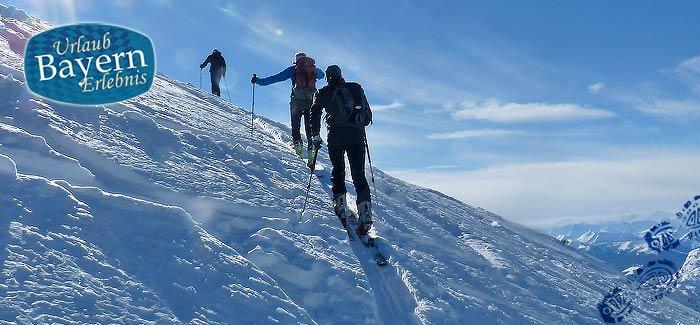 Bei den Skitouren in Bayern ist der Weg das Ziel