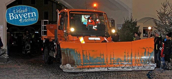 Der Winterdienst in Bayern