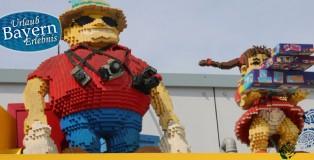 Die typischen Besucher des Legoland
