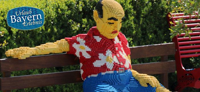 Legofigur im Legoland