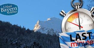 Last minute Urlaub in Bayern in den Bergen